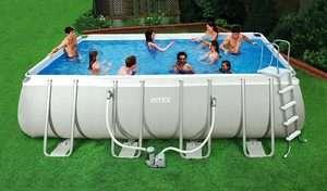 x9x52 Rectangular Above Ground Swimming Pool Package 54481EB