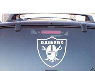 OAKLAND RAIDERS VINYL CAR WINDOW DECAL STICKER LARGE