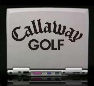 Callaway Golf Vinyl Decal Sticker  Car Truck Laptop