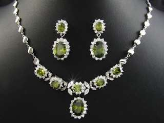 peridot. It is simple and sophitcated, and will definetly catch some