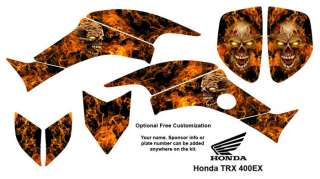 Honda TRX 400EX ATV Graphics Decal Stickers Kit 9500N