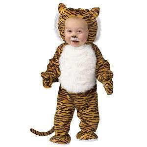 Infant Toddler Cuddly Tiger Costume Halloween