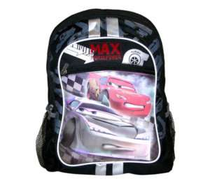 Disney Cars Mcqueen School Kids 16 Backpack Bag NEW