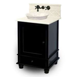 26 Vanity Top, Base, Old World Bronze Faucet and Bowl & Mirror