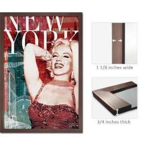 Slate Framed Marilyn Monroe Poster BoH New York PP32466