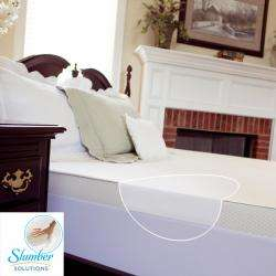 inch Twin/ Full size Memory Foam Mattress Topper with Waterproof Cover