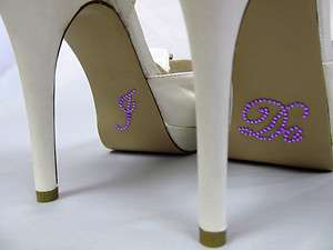 DO Wedding Shoe Stickers for Bridal Shoes Rhinestone Shoe Decal