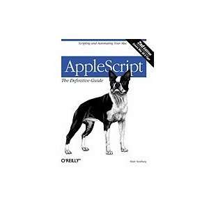 Applescript Definitive Guide [PB,2006] Books