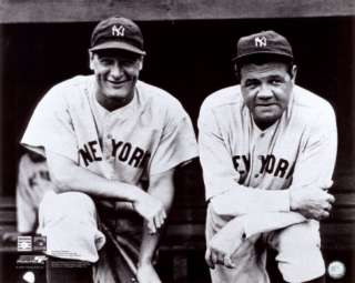 Babe Ruth & Lou Gehrig Photo at AllPosters