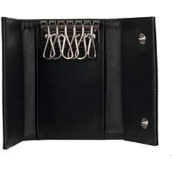 Prada Tessuto Black Nylon Key Case