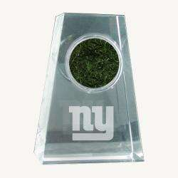Sports New York Giants Logo Crystal Paperweight