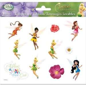 (6x6) Disney Fairies Tinker Bell Temporary Tattoos