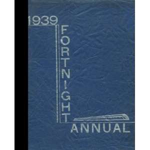 com (Reprint) 1939 Yearbook Hastings High School, Hastings, Michigan