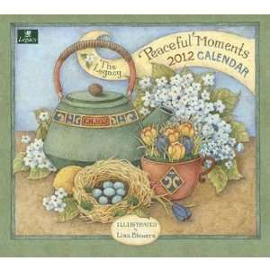 Peaceful Moments by Lisa Blowers 2012 Wall Calendar