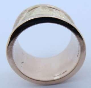 Designer Ladies Seiden Gang 18K Yellow Gold Ring