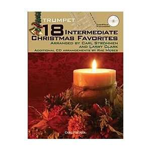 18 Intermediate Christmas Favorites   Trumpet Musical Instruments