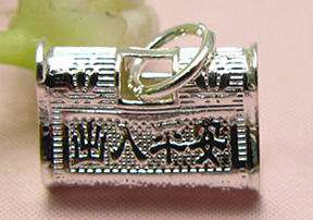 ASSORTED STERLING SILVER CHARM BEADS PENDANT FIT BRACELET NECKLACE