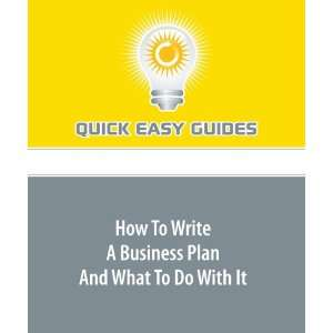 How To Write A Quick Business Plan