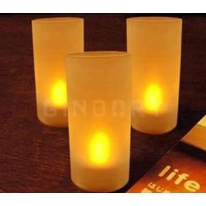 LED Light Electronic Single Color Candle Lamp Sensor Home & Kitchen