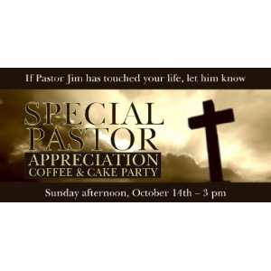 3x6 Vinyl Banner   Pastor Appreciation Photo: Everything Else