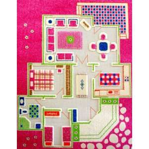 Play House Pink Play Carpet: Baby