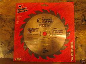 Framing Ripping Saw Blade Vermont American 27173