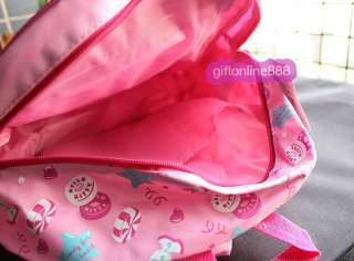 14 Hello Kitty satchel Backpack School Bag pink 8902