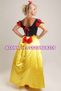 B55 Princess Snow White Gown Fairy Tale Costume Dress