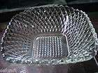 Crystal Diamond Point Glass Candy Dish with Led