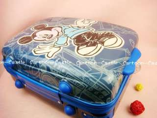 Mickey Mouse Luggage Bag Baggage Trolley Roller