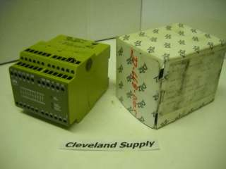 PILZ MODEL PNOZ 10 24VDC 6S40 SAFETY RELAY NEW IN BOX