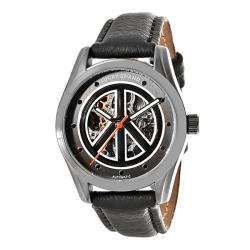 Lucky Brand Womens Automatic Black Strap Watch