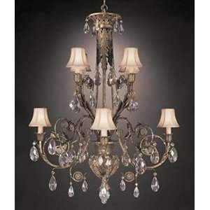 Art Lamps 162740ST 8 Light Midsummer Nights Dream Chandelier   944536