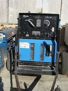 Miller Electric Big Blue 400D diesel welding machine