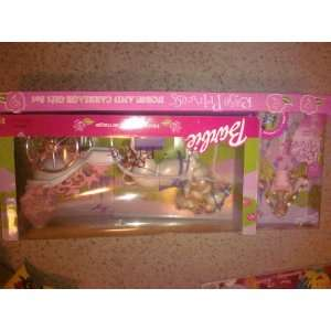 Carriage Gift Set Rose Princess Doll with Horse and Carriage Toys