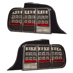 FORD MUSTANG 05 09 LED TAIL LIGHT BLACK NEW Automotive
