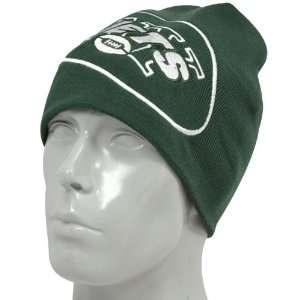 New York Jets Green Big Logo Knit Beanie  Sports