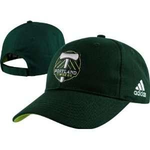 Portland Timbers Youth adidas Team Logo Adjustable Hat