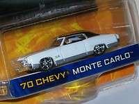 Jada Dub City 164 White & Black 70 Chevy Monte Carlo