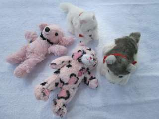 BuiLD A BeaR MINI PLuSH DOG & KiTTy CAT LoT #83