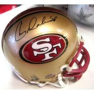 Chris Doleman Autographed Mini Helmet   San Francisco 49ers