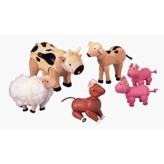 Plan Toys PLN_71350   Farm Animal Set Toys & Games
