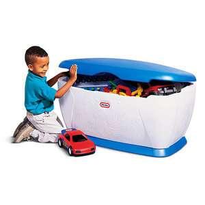 Little tikes blue toy box uk