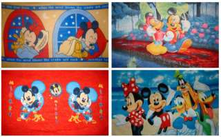 DISNEY MICKEY & MINNIE MOUSE FLEECE THROW PANEL BLANKET