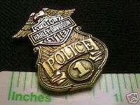VINTAGE HARLEY DAVIDSON® EVEL KNIEVEL USA #1 LAPEL PIN