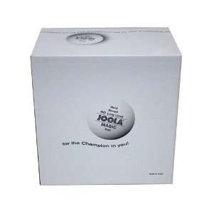 Joola Magic 2 Star Training Table Tennis Balls   144 Pack