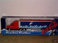 COCA COLA COKE FRTLINER 95 Christmas Tractor Trailer