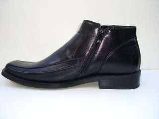 SAADAT ITALIAN Design Black Mens Shoes Boots Size 9