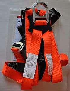 Fall Protection   Full Body Safety Harness   ANSI Z359.1 2007   High
