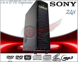 24x CD DVD Multi Burner Duplicator Copier w/ Laser Lens Cleaner Disc